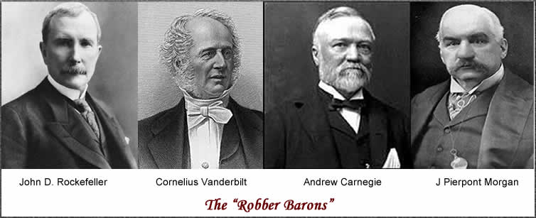 Image result for robber barons